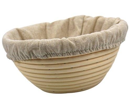 Babyfoxy 7 Inch Round Brotform Banneton Proofing Basket