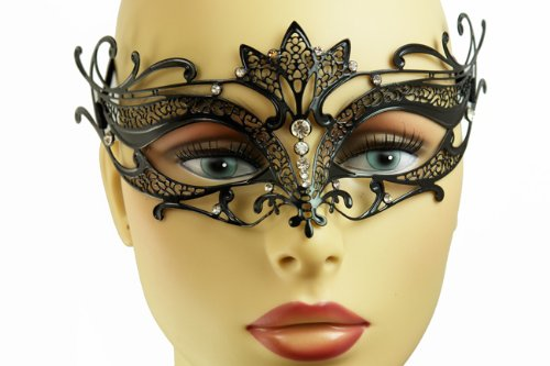NEW Swan Princess Venetian Design Laser Cut Masquerade Mask - Elegantly Detailed w/ (Ballroom Masks)