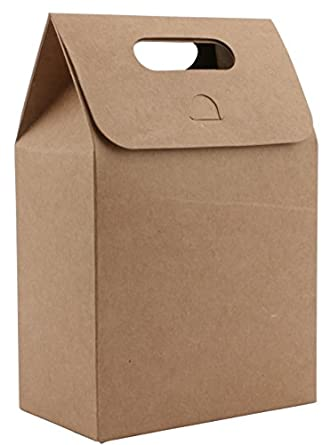 Amazon.com: katkitchen 50pcs Caja de bolsas de regalo de ...