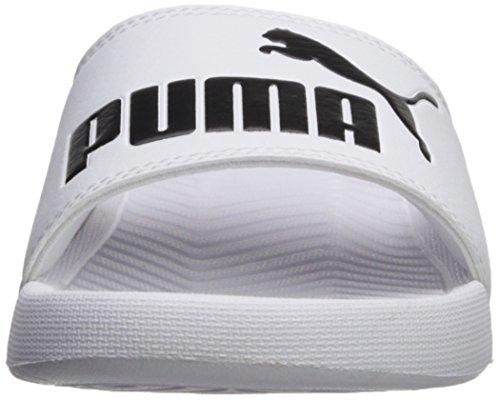 puma WNS Women's Sandal Popcat Puma Black White PUMA Slide 40vaUFUq