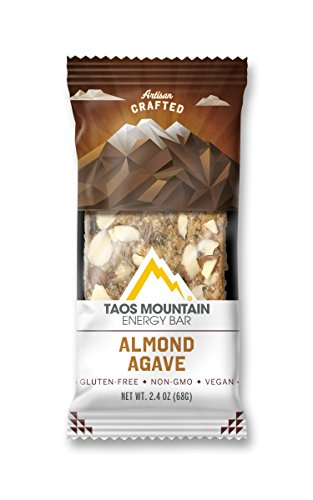 Taos Mountain Energy Bar - Almond Agave (2.2 Ounce, 6 Count)
