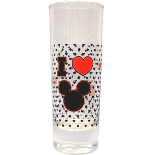 Disney Mickey Mouse Hearthrob I Luv Mickey Toothpick Holder/Shot Glass