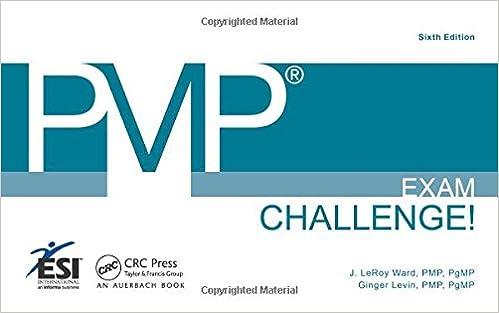 Read pmpâ® exam challenge! , fifth edition (esi international.