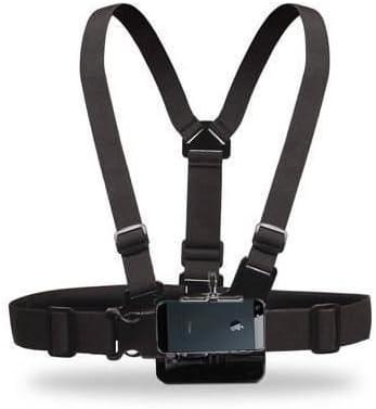 Arnés para Smartphone, iPhone, Samsung, Cámara Digital (fijación para Pecho para APN, cámara y teléfono portátil) –
