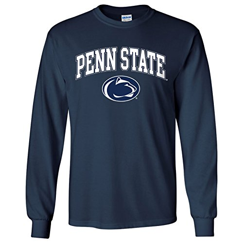 Lions Arch - UGP Campus Apparel Penn State Nittany Lions Arch Logo Long Sleeve - Medium - Navy