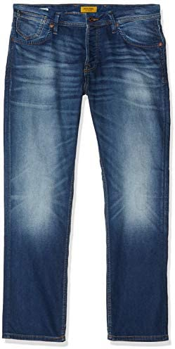 JACK & JONES Herren Slim/Straight Fit Jeans Tim Leon GE 227 I.K.