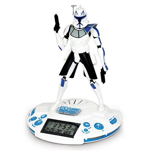 Star Wars Clone Trooper Alarm Clock (I Travel Time Clock Sound Alarm)
