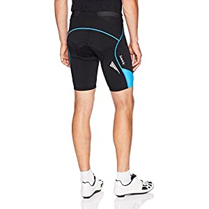 Santic Cycling Men's Shorts Biking Bicycle Bike Pants Half Pants 4D Coolmax Padded