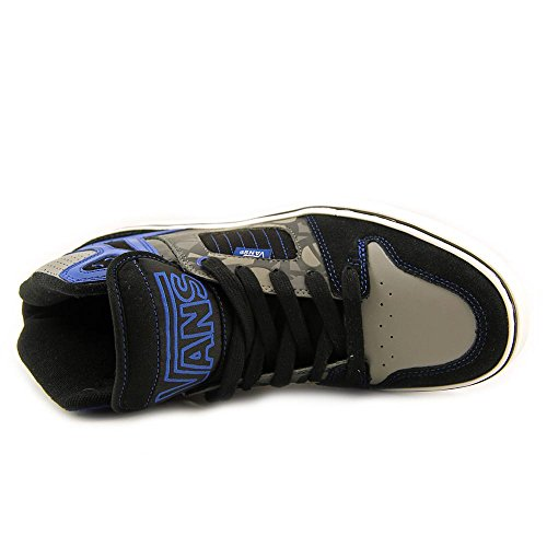 Vans Unisex Allred Hi-skateboard Shoes Nero Peltro Blu Nero Peltro Blu