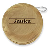 Dimension 9 Jessica Classic Wood Yoyo with Laser Engraving