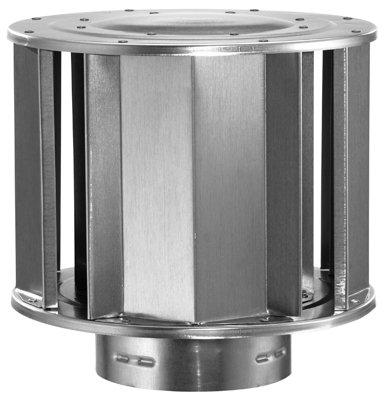Aluminum High-Wind Cap - 3 inch