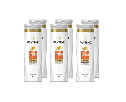 Pantene Pro-V Full and Strong Shampoo 12.6 fl oz (Pack of 6) - (Packaging May Vary)