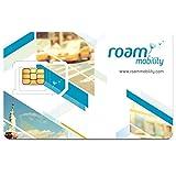 Roam Mobility 4G LTE SIM Card for Unlimited Roaming USA (Standard, Micro & Nano SIM Size)