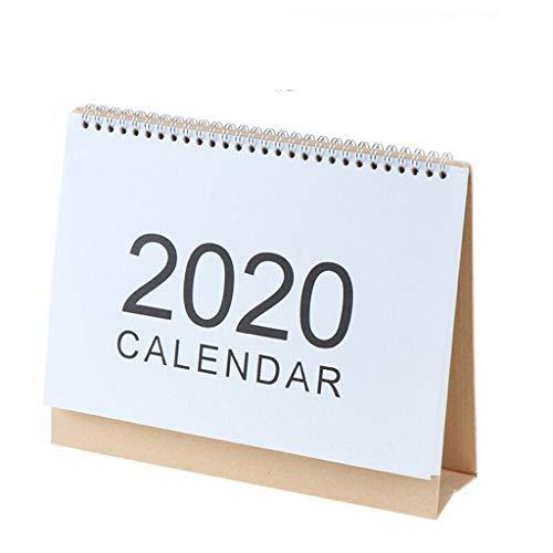 Halloween Light Displays 2019 (Fine Table Calendar,2019.8-2020.12 Desktop Calendar Monthly Planner Daily Calendar Planner for Students, Office Workers, Housewives)