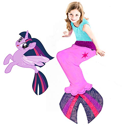 Seapony Blanket from My Little Pony - Beautiful MLP Twilight Sparkle Design with Cutie Mark - Perfect My Little Pony -