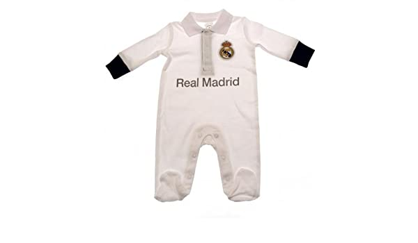 Real Madrid FC Dormir Traje 6/9 mths: Amazon.es: Bebé