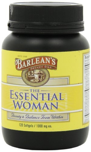 (Barlean's Organic Oils Essential Woman, 120 Count Bottle by Barlean's Organic Oils)