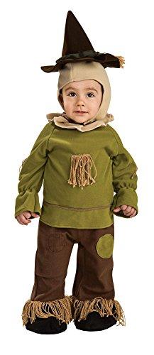 0-6 Months - Scarecrow Newborn Baby Costume 6-12 -