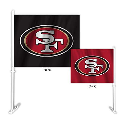 Fremont Die NFL San Francisco 49ers Home & Away Car Flag ()