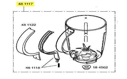 Bosch - Cuenco licuadora sin tapa - 00481117: Amazon.es: Grandes ...