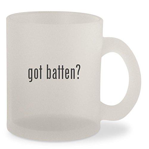 Fiberglass Battens (got batten? - Frosted 10oz Glass Coffee Cup Mug)