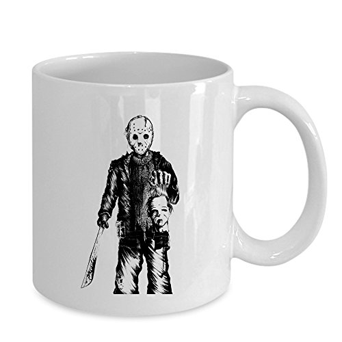 Jason Vs Michael Myers Mug - Happy Halloween 2017 (2017 Halloween Michael Myers)