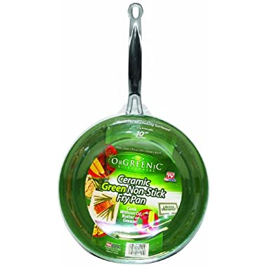 Telebrands  Orgreenic Frying Pan, 10