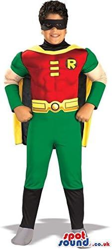 人気のロビンバットマンスーパーヒーローキャラクター子供サイズのコスチューム