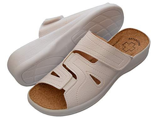 Pantofole Donna Sanitarie Sughero 41 Lavoro Ospedale 3518 Ciabatte Bawal Nero Comodo Sandalias 36 Bianco Da Scarpe dtCwgd5qIx