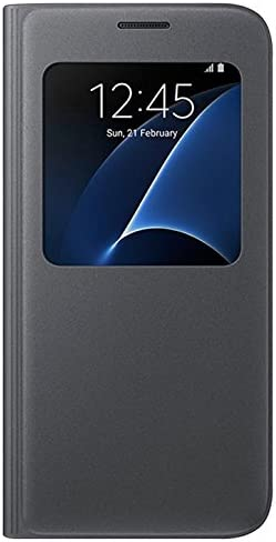 SAMSUNG S View Cover - Funda Oficial Galaxy S7, Color Negro ...