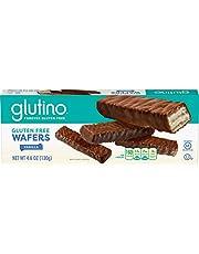 Glutino Chocolate Covered Chocolate Wafers, Gluten Gree, 130 Grams - 4.59 Ounce (cfuda)