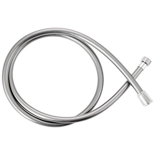 Kottmann Kunststoff Premium-Brauseschlauch K1500, 1,50 m Länge, Duschschlauch in Metalloptik, metallisch, 500160079081