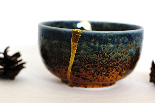 Kintsugi Dynasty Bowl - Kreuzberg Kotti (Pottery Leaf Bowl)