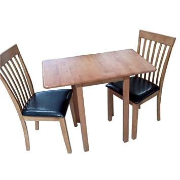 AuBergewohnlich Norwegen 92 Cm, Zusammenklappbarer Esstisch Mit 2 Stühlen, Eiche, Norwegen,  Esstisch Mit