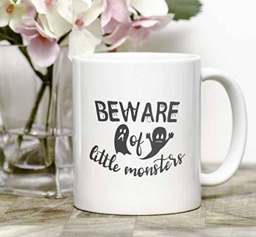Beware of little monsters coffee mug (Monsters Tableware Little)