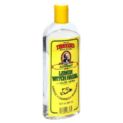 Thayers Lemon Witch Hazel Astringent - 12 oz. (Pack of 2) ()