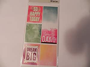 Recollections Planner Accessories - So Happy Stickers