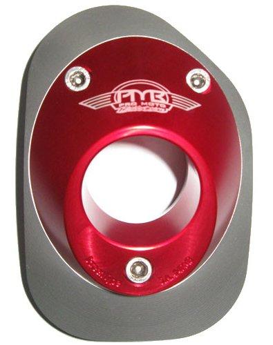 Pro Moto Billet PMB-01-1108 Red Endos Spark Arrestor End Cap