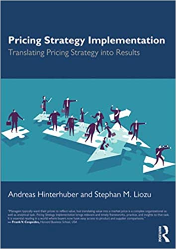 Pricing Strategy Implementation Translating Pricing Strategy into Results