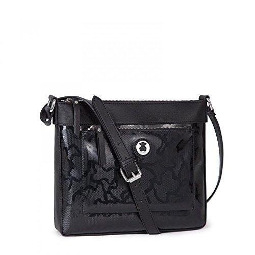 Bandolera TOUS Kaos Shiny en color negro