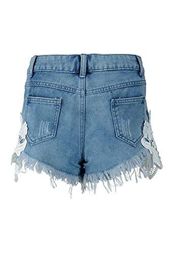 Blue I Ha Sexy Jeans Donne Sono Le Casual Shorts Tagliato qwRPUqBFx