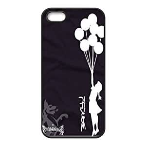 High Quality Phone Back Case Pattern Design 17Tourist Banksy Series- For Apple Iphone 5 5S Cases