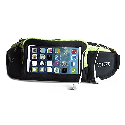 TTLIFE Running Touchscreen Compatible Elastic