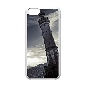 Protection Cover Hard Case Of Lighthouse Cell phone Case For Iphone 5C