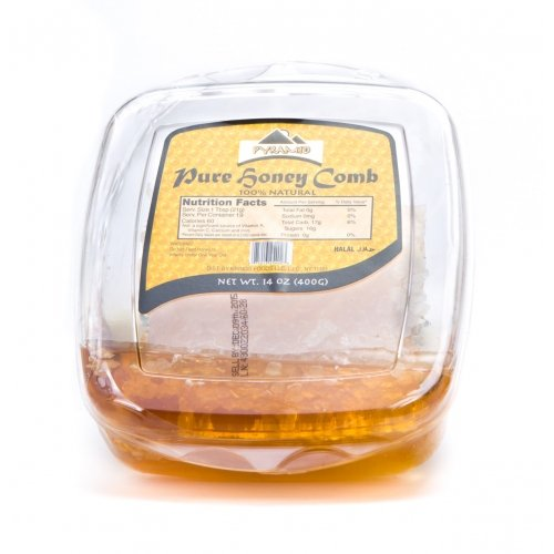 Price comparison product image Pure Honey with Comb (100% Natural) 14 Oz.