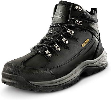 NORTIV 8 Men's Mid Ankle Waterproof Hiking Boots Mountaineering Trekking Outdoor Boots