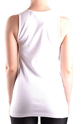 Elisabetta Franchi Tank Top Donna MCBI113068O Cotone Bianco