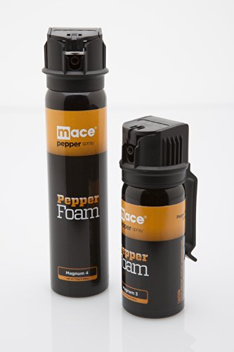 Mace Brand Police Strength Pepper Spray 10% Pepper Foam (Large)