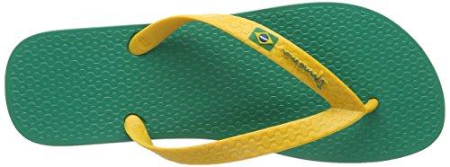 Ipanema Brasil Vlag Ii Mens Strandwipschakelaars Groen / Geel