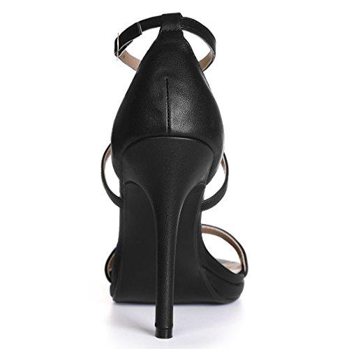 Allegra pu Lace Heels K Black Women up pxqnBEwpUr